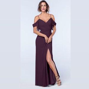 Watters Aldridge Bridesmaid / Formal Dress - Plum